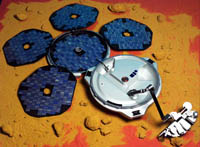 RIP Beagle2, died December 25th 2003 (Earth time)