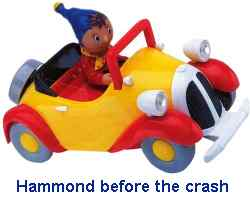 hammond sets off